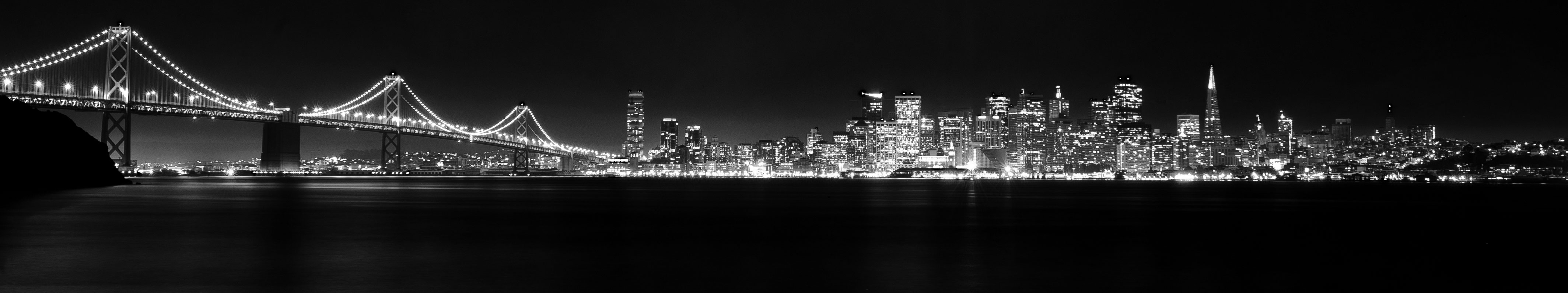 San-Francisco-B&W-Night