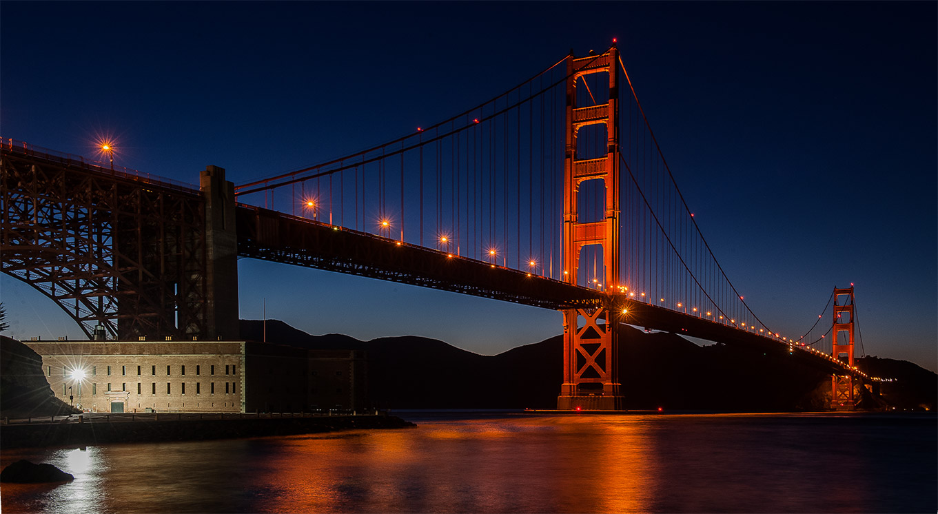 Golden-Gate-Night-SF-Side